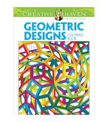 coloring book dover creative haven geometric designs joann