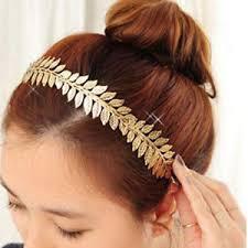 grecian headband gold laurel leaf headband grecian headdress hair crown