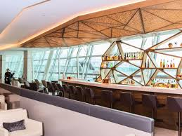 etihad airways jfk airport first and business class lounge photos