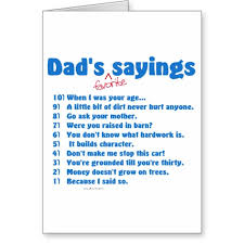funny birthday card verses for dad
