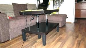 flip top coffee table coffee table that raises up raise table raise up coffee table lift