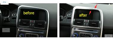 volvo xc60 2015 interior interior 1 pcs for volvo xc60 2014 2015 2016 stainless steel