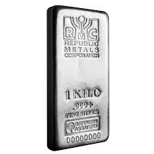 1 kilo republic metals rmc silver bar 999 fine ebay