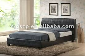 sale wooden double bed frame simple bed designs faux leather