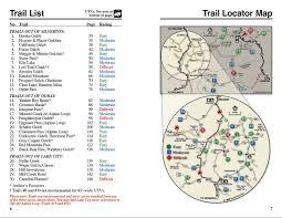 Telluride Colorado Map by Atv Trails Guide Colorado Silverton Ouray Lake City Telluride