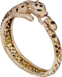 cartier jewelry bracelet images Crh6000716 panth re de cartier high jewelry bracelet yellow png