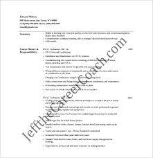 hvac resume template hvac resume template 10 free word excel pdf