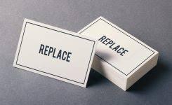 business card messages 1 card design ideas