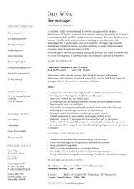 Sample Resume For Kitchen Helper by Amazing Bar Manager Sample Resume Gallery Simple Resume Office
