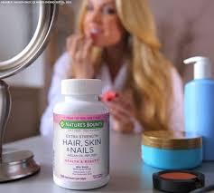 extra strength hair skin u0026 nails 5 000 mcg of biotin 150 rapid