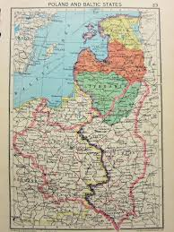 52 States Map by Maps1940 45