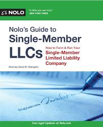 nolo u0027s guide to single member llcs how to form u0026 run your single