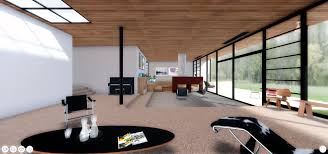 Eames House Floor Plan by A Virtual Look Into Eames And Saarinen U0027s Case Study House 9 The