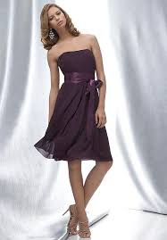 purple dresses for weddings knee length 30 best grape bridesmaid dresses images on