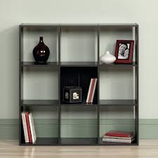 sauder 4 shelf bookcase sauder beginnings organizer bookcase ebony ash walmart com