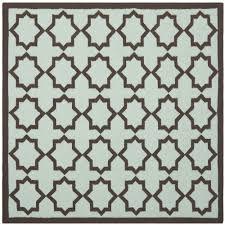 safavieh antiquity light blue gold 8 ft x 8 ft square area rug