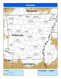 us cover map noaa noaa weather radio arkansas