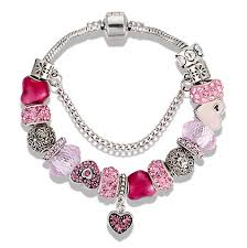 chain bracelet with heart charm images Heart charm bracelet mystik charms jpg