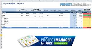 Tracking Project Costs Template Excel Guide To Excel Project Management Projectmanager Com