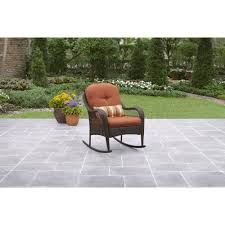 Gp Products Patio Furniture Better Homes And Gardens Azalea Ridge Porch Rocking Chair