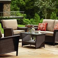 4 piece wicker conversation set garden furniture conversation set