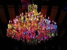 Multi Coloured Chandeliers Multi Color Chandelier Foter