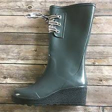 womens rubber boots size 9 sperry top sider wedge rubber boots for ebay