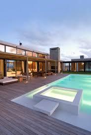 modern house plan swimming pool home act