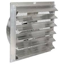 in wall exhaust fan for garage 24 industrial exhaust shutter fan 2 speed 5850 cfm garage shop barn
