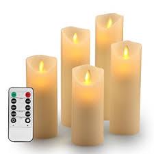 candele scintillanti set di candele scintillanti senza fiamma natale senza fiamma