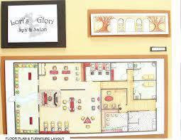 salon layout u2013 modern house