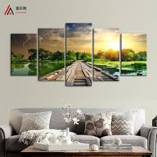 Wall Art For Living Room by Online Get Cheap Green Framed Art Aliexpress Com Alibaba Group