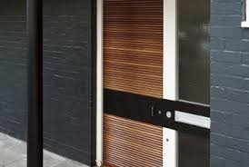 Modern Front Entry Doors In African Mahogany Chad Womack by Modern Front Doors Cool Room Decorating Ideas Home