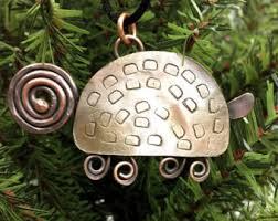 turtle ornament etsy