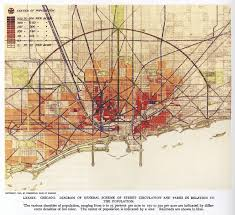 Crime Map Of Chicago by Daniel Burnham And The1909 Plan Of Chicago