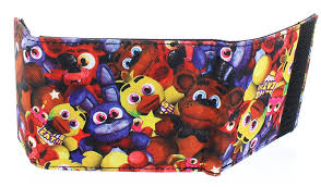 five nights at freddy s halloween horror nights amazon com five nights at freddy u0027s bi fold wallet 4 x 5in clothing