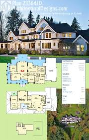 plan 23364jd luxury on 3 levels craftsman farmhouse farmhouse
