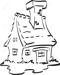 fairy house nice fairy house with a huge chimney coloring page