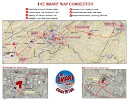 Amtrak Map Schedule by Connector Smart Way Bus