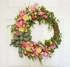 do it yourself spring wreaths for front door