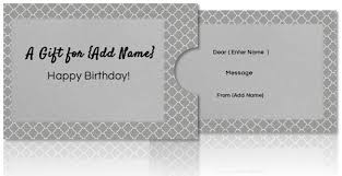 custom gift card holders free diy custom gift card holders