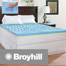mattress novaform comfortluxe gel memory foam mattress topper