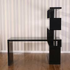 black corner bookcase cabinet home office home office corner asian desc bankers chair black