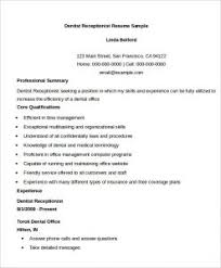 Sample Resume Receptionist by Download Resume Receptionist Haadyaooverbayresort Com