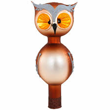7 5 inch owl glass tree topper tree toppers christmas trees
