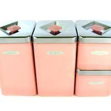 pink kitchen canister set pink kitchen canisters pink canister set kitchen pink pig canister