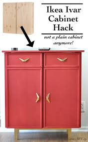 Diy Ikea Nornas by Can You Believe This Is An Ikea Ivar Cabinet Hack Diy Furniture