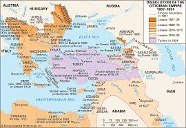 map of ottoman empire ottoman empire the empire from 1807 to 1920 historical empire