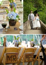 country wedding decorations country western wedding ideas burlap table runners blue