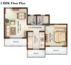 1bhk floor plan vedic heights mumbai keemaya and mlh best rates on real estate